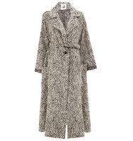 Aganovich Patch Pockets Belted Coat