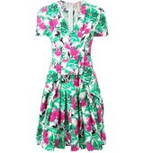 Antonio Marras Floral Print Pleated Dress