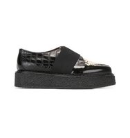 Antonio Marras Wedged Strap Detail Loafers