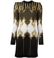 Balmain Baroque Knitted Dress