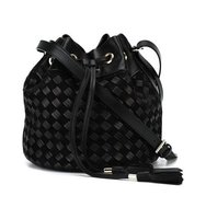 Balmain Braided Bucket Bag