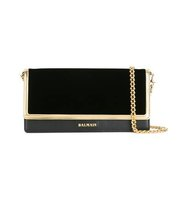 Balmain Flap Closure Clutch Bag