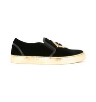 Balmain Patch Slip On Sneakers