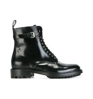 Belstaff Lace Up Buckle Ankle Boots
