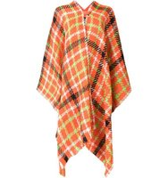 Boutique Moschino Checked Poncho