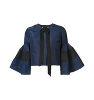 Carolina Herrera Bell Sleeve Jacket