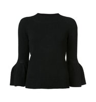 Carolina Herrera Bell Sleeve Jumper