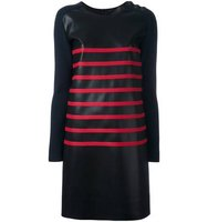 Cdric Charlier Two Tone Striped Dress