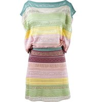 Cecilia Prado Striped Knit Dress