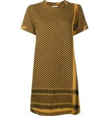 Cecilie Copenhagen Keffiyeh Cotton Short Sleeve Dress