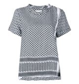 Cecilie Copenhagen Keffiyeh Cotton Short Sleeve Top