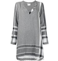 Cecilie Copenhagen Keffiyeh Detail Dress