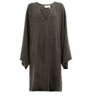 Chloe Knitted Poncho Dress