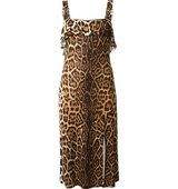 Christian Dior Vintage Leopard Print Dress