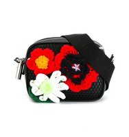 Christopher Kane Crochet Flower Crossbody Bag