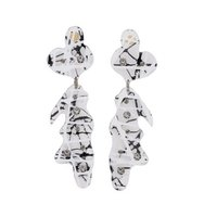 Christopher Kane Crystal Accent Earrings
