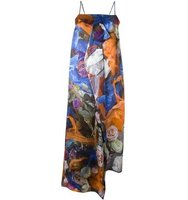 Christopher Kane Floral Maxi Dress
