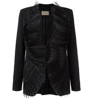 Christopher Kane Organza Lapel Jacket