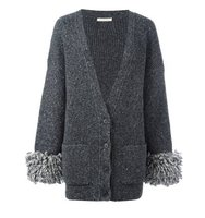 Christopher Kane Oversized Cuff Cardigan