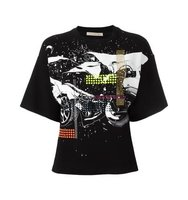 Christopher Kane Relaxed Car Crash T Shirt