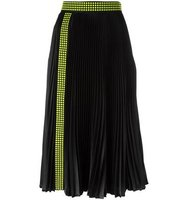 Christopher Kane Studded Pleated Midi Skirt