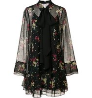 Cinq A Sept Floral Print Dress