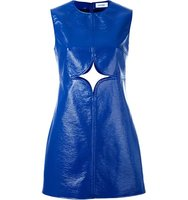 Courrges Cut Out Detail Shift Dress