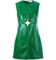 Courrges Cut Out Shift Dress