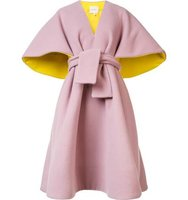 Delpozo Belted Poncho