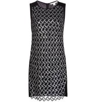 Diane Von Furstenberg Sequin Embellished Dress