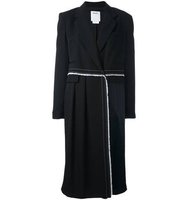Dkny Long Panelled Coat