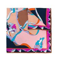 Emilio Pucci Abstract Print Foulard