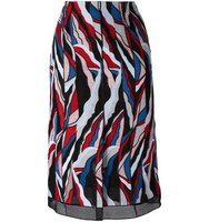 Emilio Pucci Abstract Print Straight Skirt