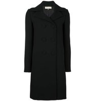 Emilio Pucci Peaked Lapel Double Breasted Coat