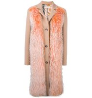 Emilio Pucci Raccoon Fur Panel Coat