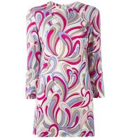 Emilio Pucci Vintage Abstract Print Mini Dress