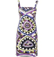 Emilio Pucci Vintage Geometric Patterened Dress