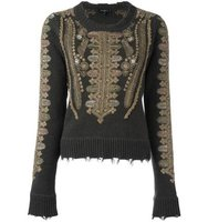 Etro Embroidered Jumper