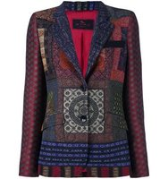 Etro Multi Print Fitted Jacket
