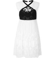 Giamba Lace Sleeveless Dress