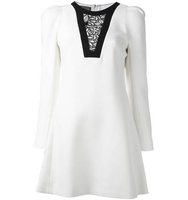 Giambattista Valli Lace Panel Mini Dress