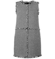 Gianluca Capannolo Tweed Shift Dress