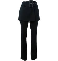 Givenchy Belted Skirt Trousers