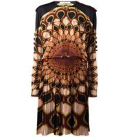 Givenchy Kaleido Eye Printed Dress