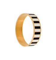 Givenchy Monochrome Striped Bracelet