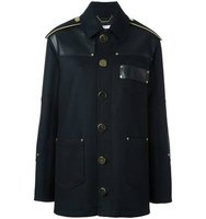 Givenchy Panelled Felted Wool Coat