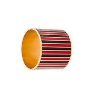 Givenchy Striped Cuff Bangle