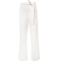 Halston Heritage Belted Straight Trousers