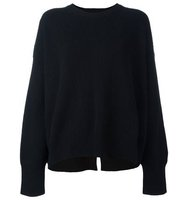 Helmut Lang Crew Neck Ribbed Sweater