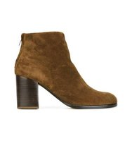 Helmut Lang Rear Zip Up Ankle Boots